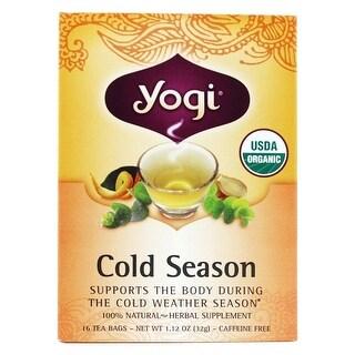 YOGI - TEA,OG2,COLD SEASON 16 BAG