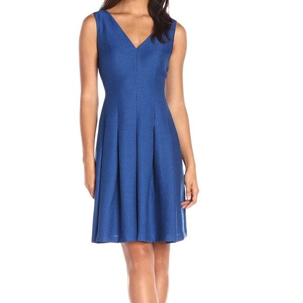 Shop Anne Klein New Blue Royal Women S Size 10 V Neck