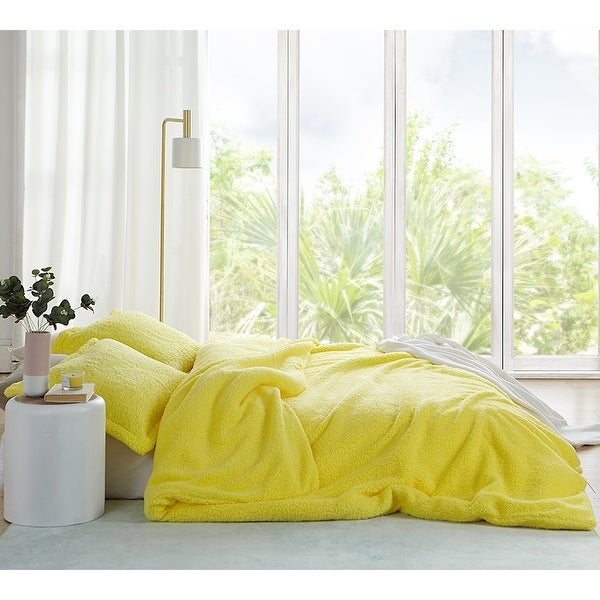 Coma Inducer Duvet Cover - The Napper - Limelight Yellow. Opens flyout.