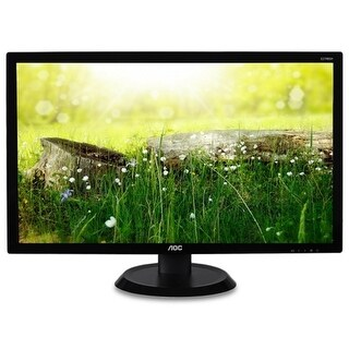 "Refurbished - AOC E2798SH 27"" Full HD 1920x1080 Monitor 5ms VGA and HDMI ports VESA 75x75"