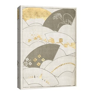 """PTM Images 9-126665  PTM Canvas Collection 8"""" x 10"""" - """"Panoramic Fan's III"""" Giclee Patterns and Designs Art Print on Canvas"""