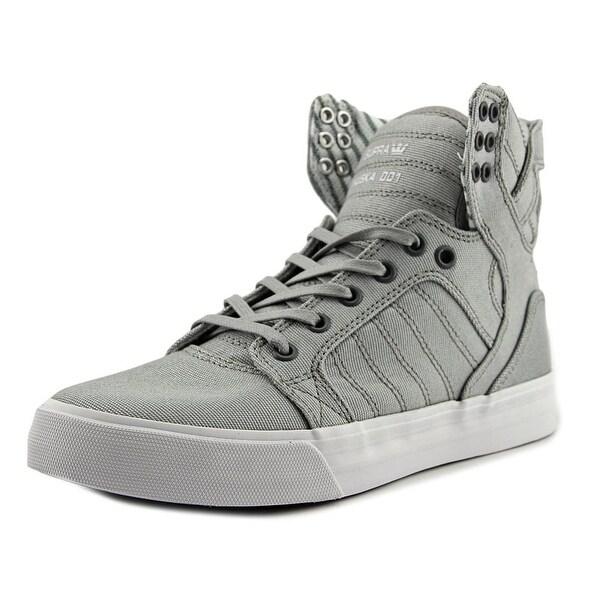 Supra Skytop Men Lt. Grey-White Sneakers Shoes