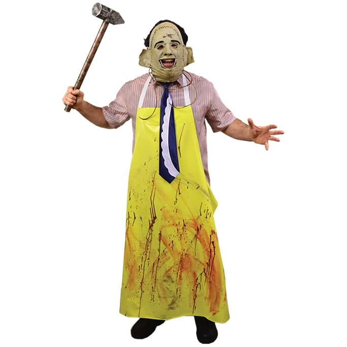 Texas Chainsaw Massacre Leatherface Butcher/'s Apron Adult size O//S Costume