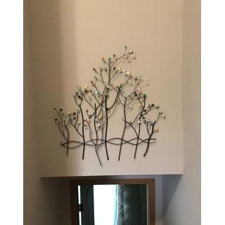 Upton Home Gemstone Forest Wall Sculpture