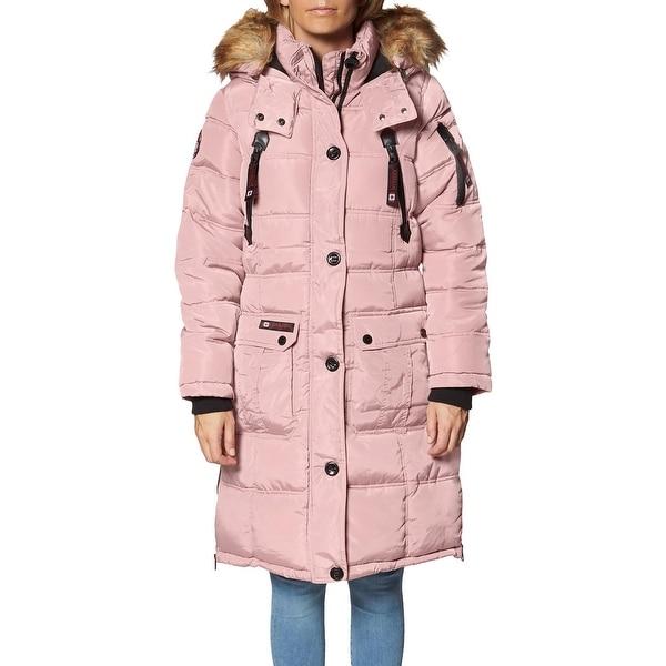 Canada Weather Gear Puffer Coat for Women- Long Faux Fur Insulated Winter Jacket. Opens flyout.