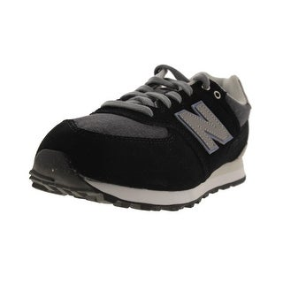 New Balance Boys 574 Canvas Running Shoes