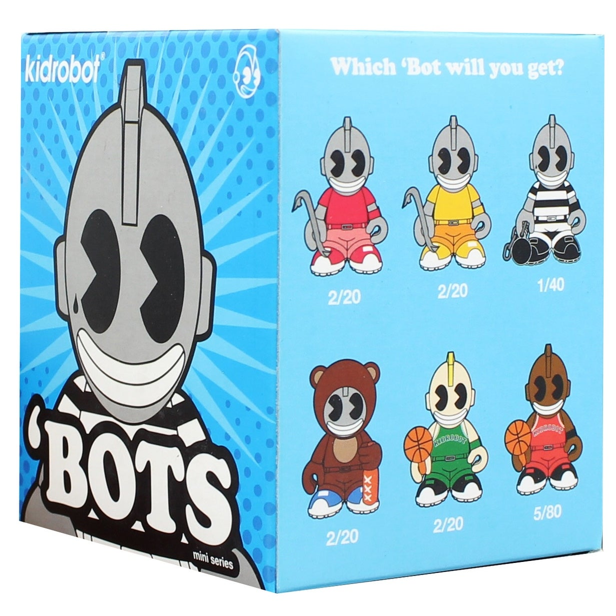 New Kidrobot /'BOTS Mini  SERIES Blind Box