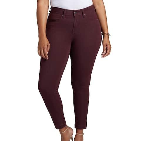 NYDJ Red Womens Size 22 Plus Curves 360 Skinny Leg Boost Jeans