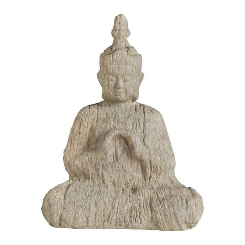 Natural 17-inch Buddha Accent Décor