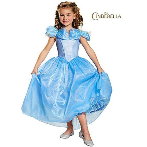 Disney Movie Cinderella Prestige Child Costume - Blue