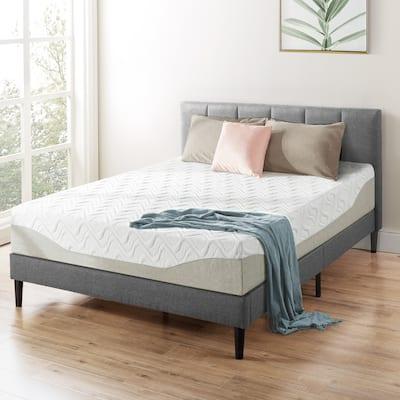 11 inch Gel Memory Foam Mattress By Crown Comfort