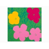 Flowers #68 by Andy Warhol Floral Art Print