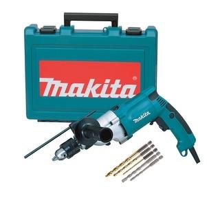 "Makita 3/4"" Hammer Drill 6.6 Amps Set"