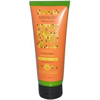 Andalou Naturals - Argan And Sweet Orange Smooth Hold Styling Cream ( 2 - 6.8 FZ)