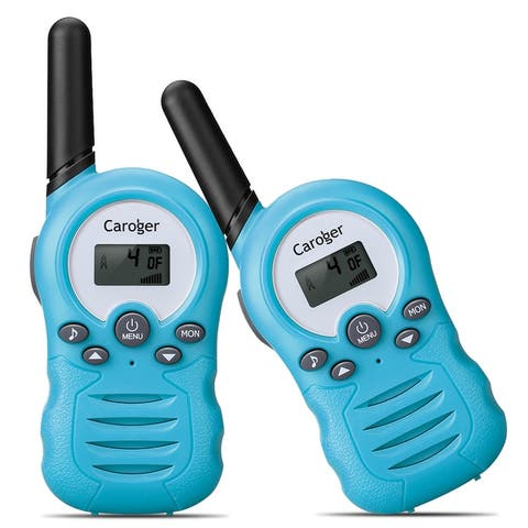 Caroger CR388A License-Free 22 Channel 2packs Walkie Talkies FRS 462~467MHZ Two Way Radio