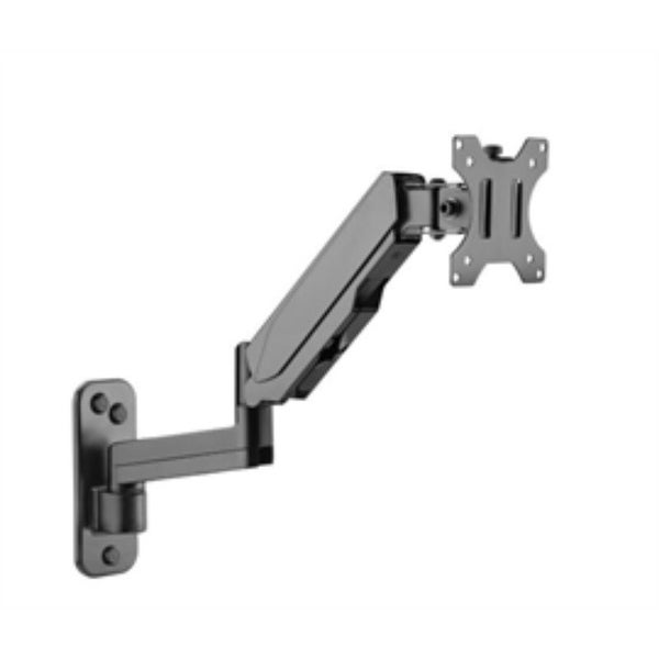 SIIG Accessory CE-MT2L12-S1 Premium Aluminum Gas Spring Wall Mount Single Monitor Retail