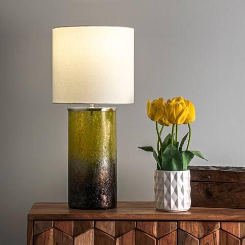 "nuLOOM Lompoc 23"" Glass Table Lamp"