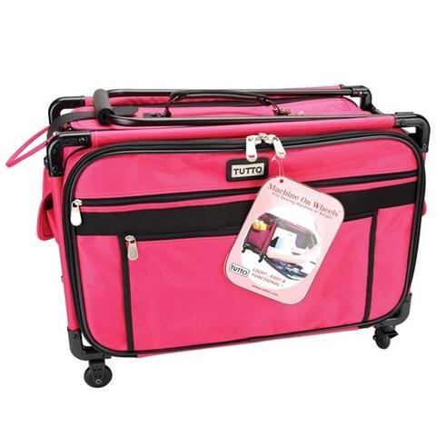 """23""""X15""""X12"""" Pink - Tutto Machine On Wheels Case"""
