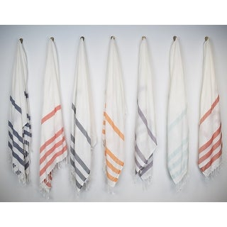 Link to Salem Kavak Fringe Turkish Cotton Beach Towel Similar Items in Towels