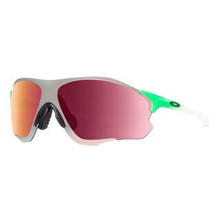 Oakley EVZero Path OO9308-09 Green Fade Prizm Field Chrome Iridium Sunglasses - green fade / white - 138mm-0mm-125mm