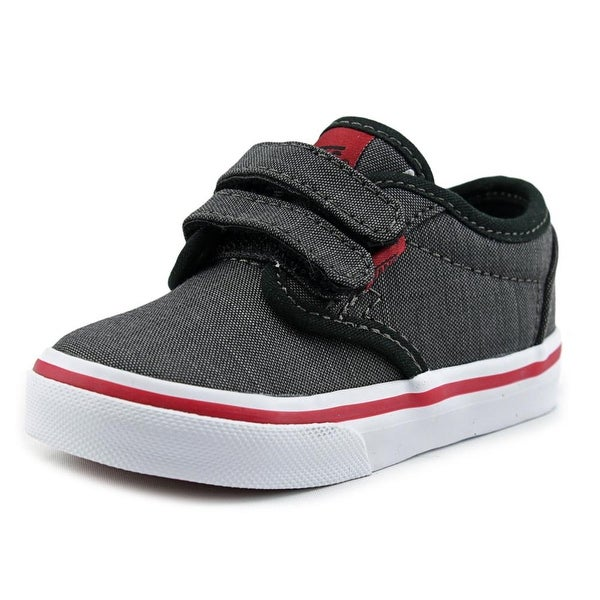 Shop Vans Atwood V Toddler Canvas Gray Fashion Sneakers - Free ... 870964068