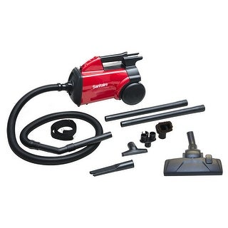 Sanitaire SC3683B Compact Commercial Canister Vacuum - Red