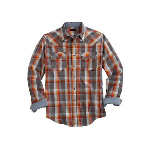 Tin Haul Western Shirt Mens L/S Multi-Color