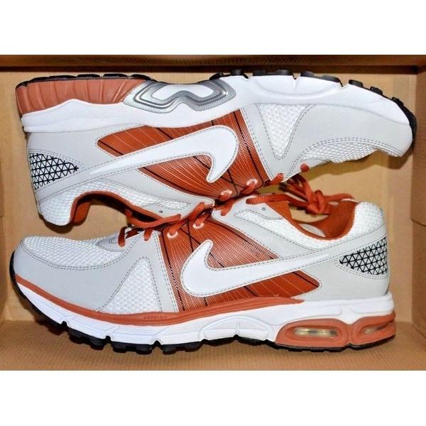 Devon Cajuste Stanford Cardinal Training Worn & Signed Cardinal & White Nike Air Max Moto 9 Shoes