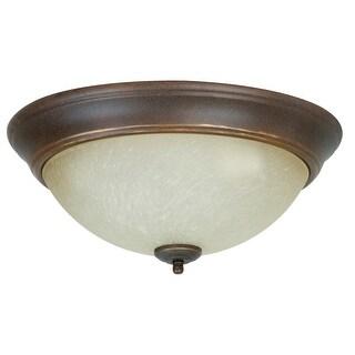 Craftmade X715 3 Light Flush Mount Ceiling Fixture