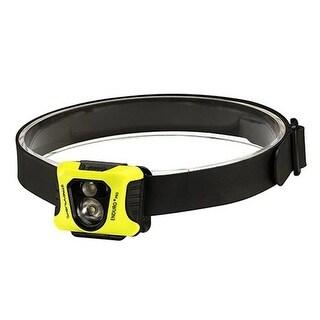 Enduro Pro Headlamp with 3 AAA ,3M Dual Lock, Black & Yellow