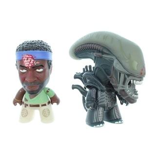 "Titan Merchandise Alien Titans: Bloody Parker & Bloody Alien 3"" Vinyl Figure (2 Pack)"