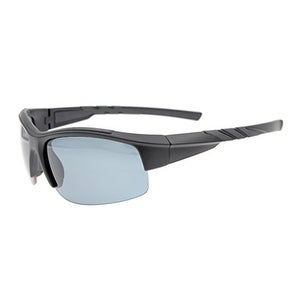 ed1a88a08a94 Shop Eyekepper Polycarbonate Polarized Sport Sunglasses Half Rimless  Running Driving TR90 Unbreakable Black Frame Grey Lens - Free Shipping On  Orders Over ...