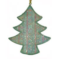 """3"""" Blue and Pink Pastel Iced Cookie Tree Christmas Ornament"""