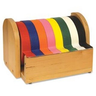 Wooden Tape Stand, 6.5 in. x 6.5 in.,10 in., Brown