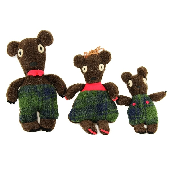 Goldilocks Three Bears Plush Set
