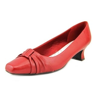 Easy Street Waive W Square Toe Synthetic Heels