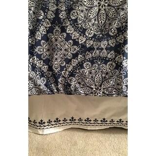 Dena Atelier Indigo Dream Bed Skirt