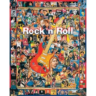 "Jigsaw Puzzle Ultimate Trivia 1000 Pieces 24""X30""-Rock 'n' Roll"