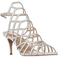 Vince Camuto Paxton Caged Dress Sandals, Earl Grey
