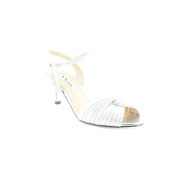 Nina Camille Women's Heels Silver Reflect
