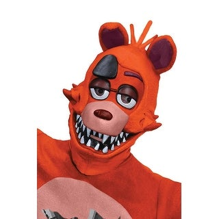 Five Nights at Freddy's Foxy Costume 3/4 Mask Adult Standard