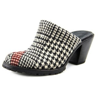 Woolrich Miss Lucy Women Round Toe Canvas Mules