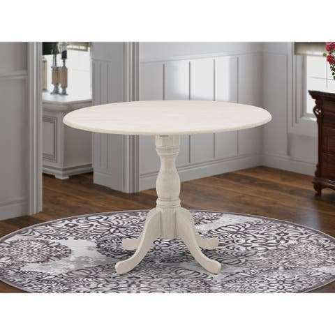 Round Small Pedestal Dining Table