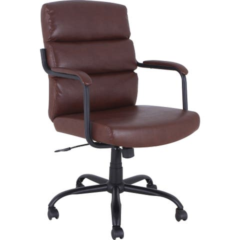 Lorell SOHO Collection High-back Leather Chair