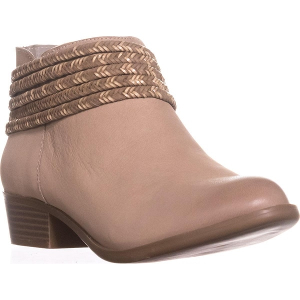 BCBGeneration Clayton Braided Booties, Smoke Taupe - 8.5 us