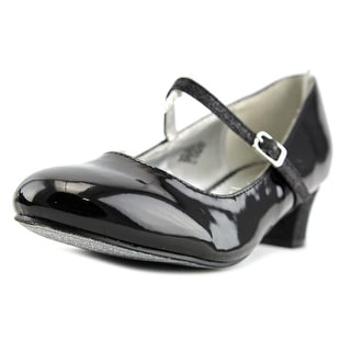 Nine West Pumped Up Youth Round Toe Synthetic Black Mary Janes