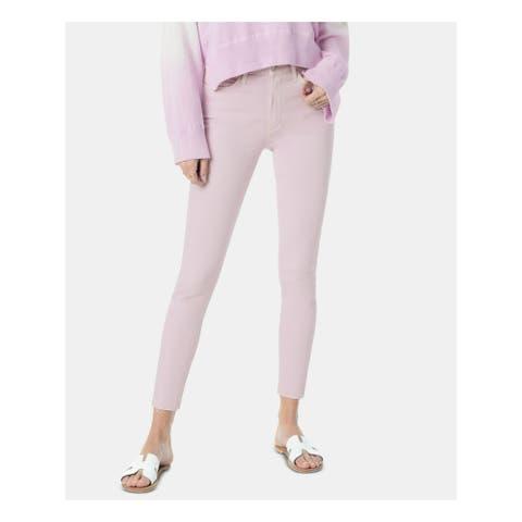 JOE'S Womens Purple Skinny Jeans Size 28 Waist