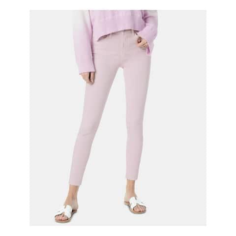 JOE'S Womens Purple Skinny Jeans Size 31 Waist