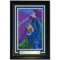 Leroy Neiman Framed 10x16 Arnold Palmer The King Golf Print