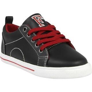 Florsheim Boys  Varsity Low Jr. Black Smooth Leather 91e312628